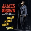 Brown James- PLEASE PLEASE PLEASE / THINK! (2lps on 1 cd)