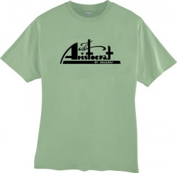 Aristocrat Records- T-SHIRT- Stone Green- DOUBLE EXTRA LARGE
