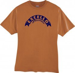 EXCELLO T-Shirt- Texas Orange- LARGE