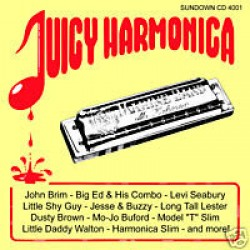JUICY HARMONICA- 26 Post War Harmonica Gems