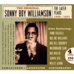 Williamson Sonny Boy #1- (4CDS)- The LATER YEARS  (VOL 2)