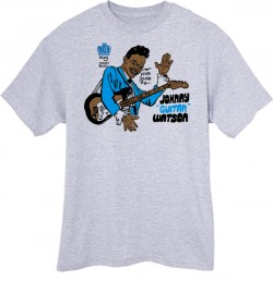 Johnny Guitar Watson T-Shirt  Extra Large  ASH